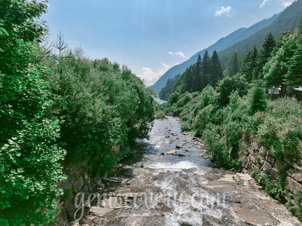 La rivière Varaita